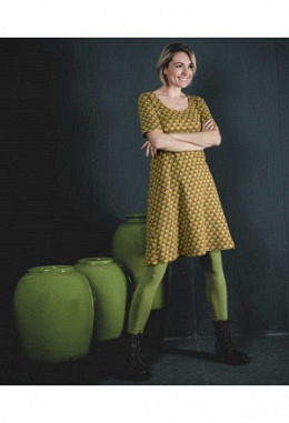 Moshiki Kleid 0-144 Zitronengelb