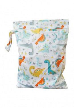 Blümchen Wetbag PUL mit Zip
