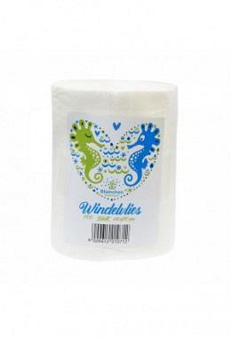 Blümchen Windelvlies (100 Blatt)