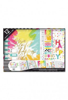 The Happy Planner® 12 Month Box Kit - CLASSIC- Vertikal - Brights