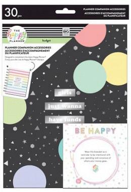 Happy Planner Companion - Budget - CLASSIC -  Accessoire - 30 Teile