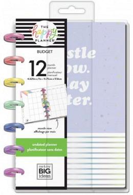 Happy Planner - 12 Monate - Budget - Undatiert - MINI
