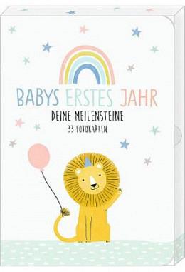 Coppenrath Fotokarten Box Meilensteine Babys erstes Jahr