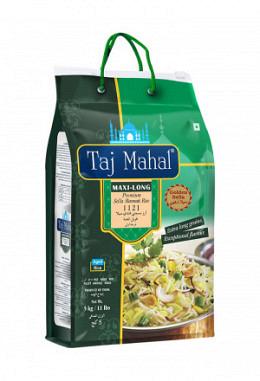 Taj Mahal Maxi - Long Golden Sella Basmati Rice 5kg
