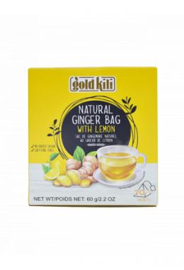 Gold Kili Natural Ginger with Lemon Bag 60g