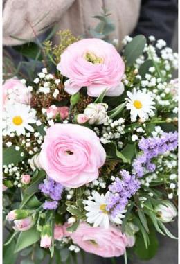 Rosa Frühlingsstrauss