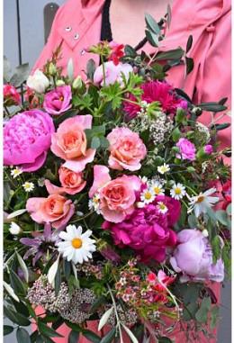 Strauss rosa-pink