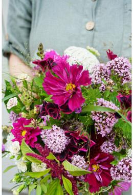 Bio-Blumenstrauss aus der Region