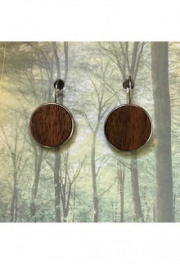 Holz-Ohrhänger