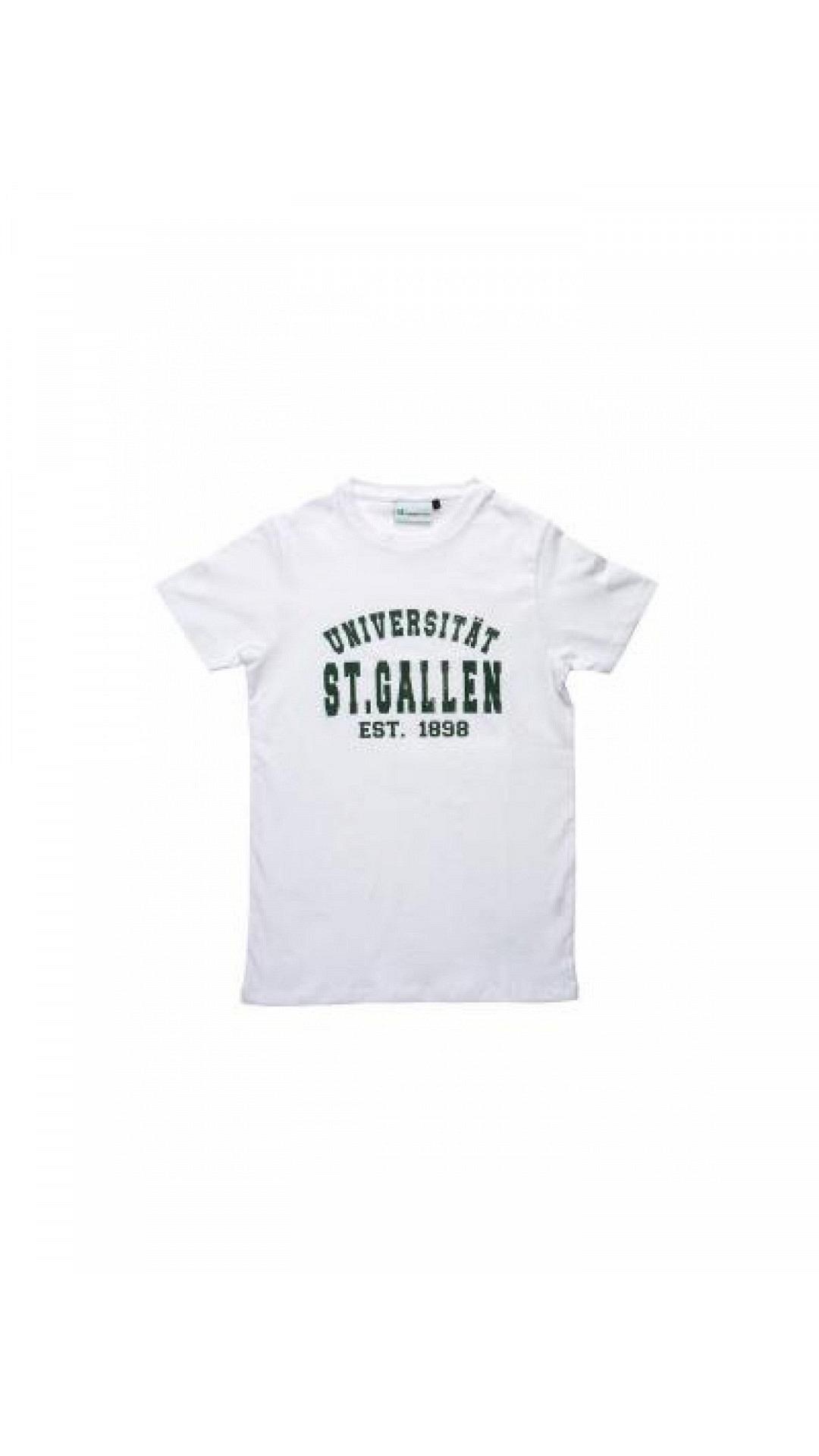 Uni T-Shirt Weiss, unisex