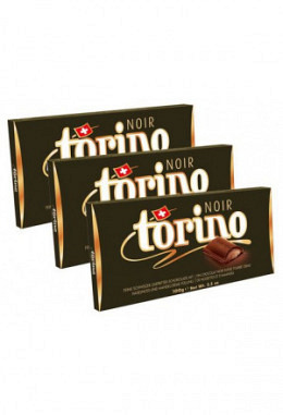 Torino noir vegan 3 x 100g