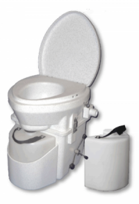 Nature's Head® Trenntoilette mit Spider Handle und Extra Urin-Behälter