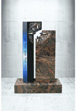 Grabstein Paintbrush Indisch Black 52 x 100 x 14 cm