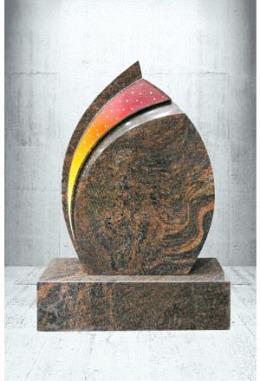 Paintbrush Vulcano 50 x 70 x 14 cm