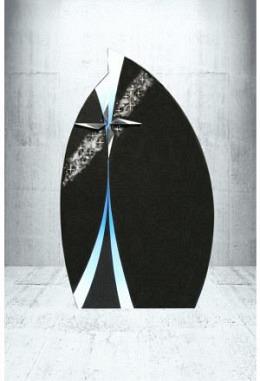 Paintbrush Indisch Black 62 x 105 x 14 cm