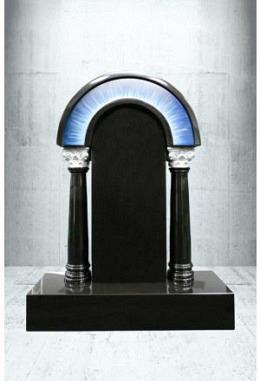 Grabstein Paintbrush Indisch Black 60 x 90 x 14 cm