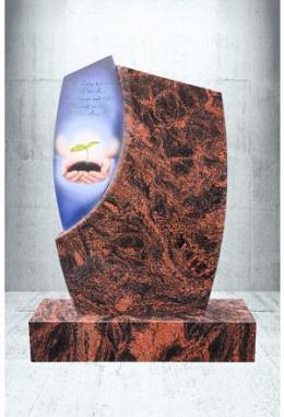 Grabstein Paintbrush Aruba 60 x 90 x 14 cm