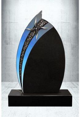 Grabstein Paintbrush Indisch Black 62 x 105 x 14 cm
