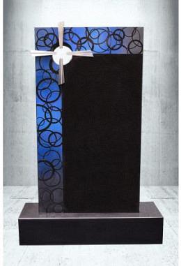 Grabstein Paintbrush Indisch Black 50 x 90 x 14 cm