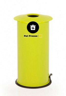 Petflaschen & Aludosen Presse grün