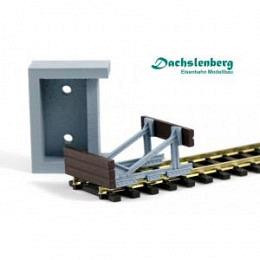 Betonwiderlager zu Prellbock Gotthard