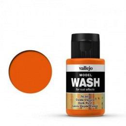 07 Dark Rust Wash