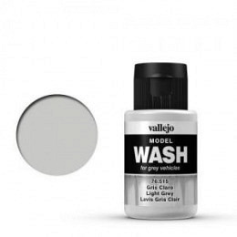 15 Light Grey Wash