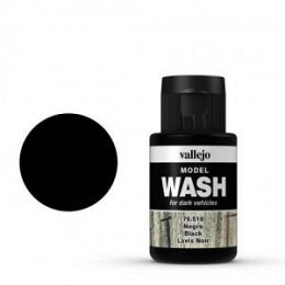 18 Black Wash