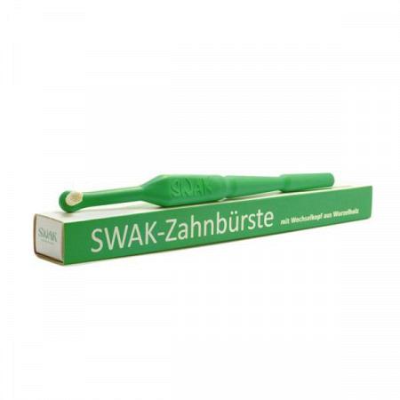 SWAK Zahnbürste Dunkelgrün