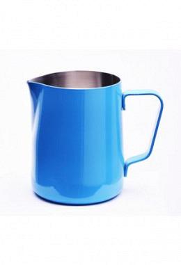 Milchkännchen mit Pulverbeschichtung Azur