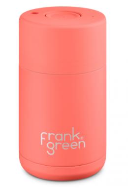 Frank Green Kaffeebecher - living coral - 295ml