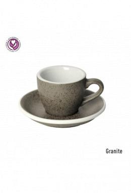 Loveramics Espressotasse inkl. Unterteller granite