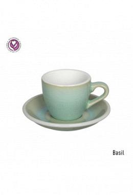 Loveramics Espressotasse inkl. Unterteller basil