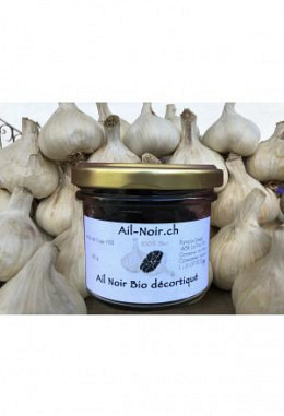 Peeled Black Garlic, organic