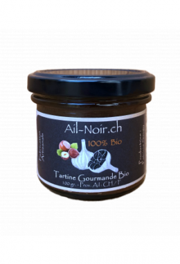 "Black Garlic Haselnut Paste ""Tartine Gourmande"""