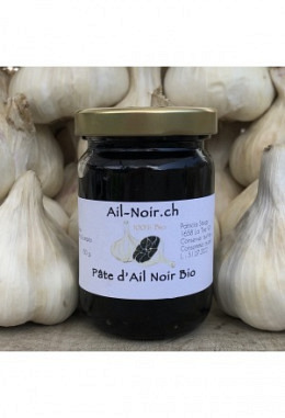 Black Garlic Paste organic, ready to use