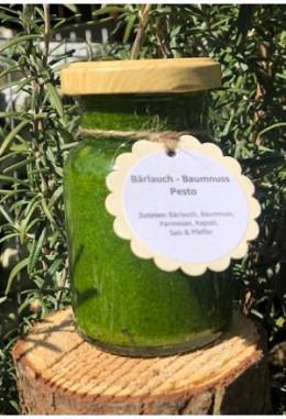 Bärlauchpesto mit Baumnüssen 150ml