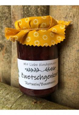 Zwetschgen-Rotwein- Baumnuss Konfitüre