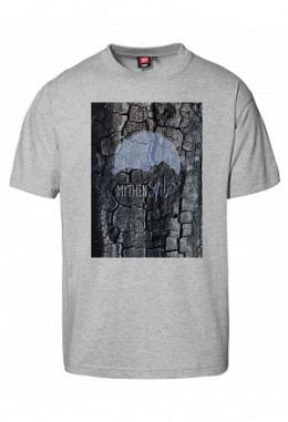 Mythenspitz Kohle - Herren T-Shirt, grau-meliert