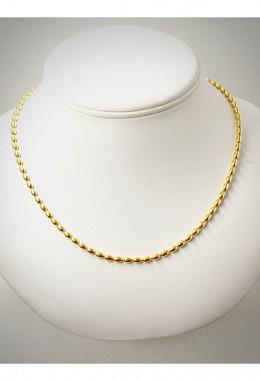 Halskette 925 Silber vergoldet SIK21