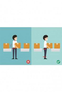 Repetitive Bewegungen bei der Arbeit