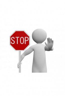 Schutzeinrichtungen - STOPP dem Manipulieren