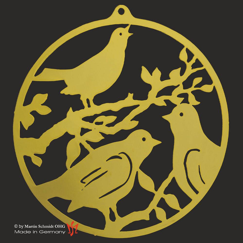 Metallhänger mit Vögel
