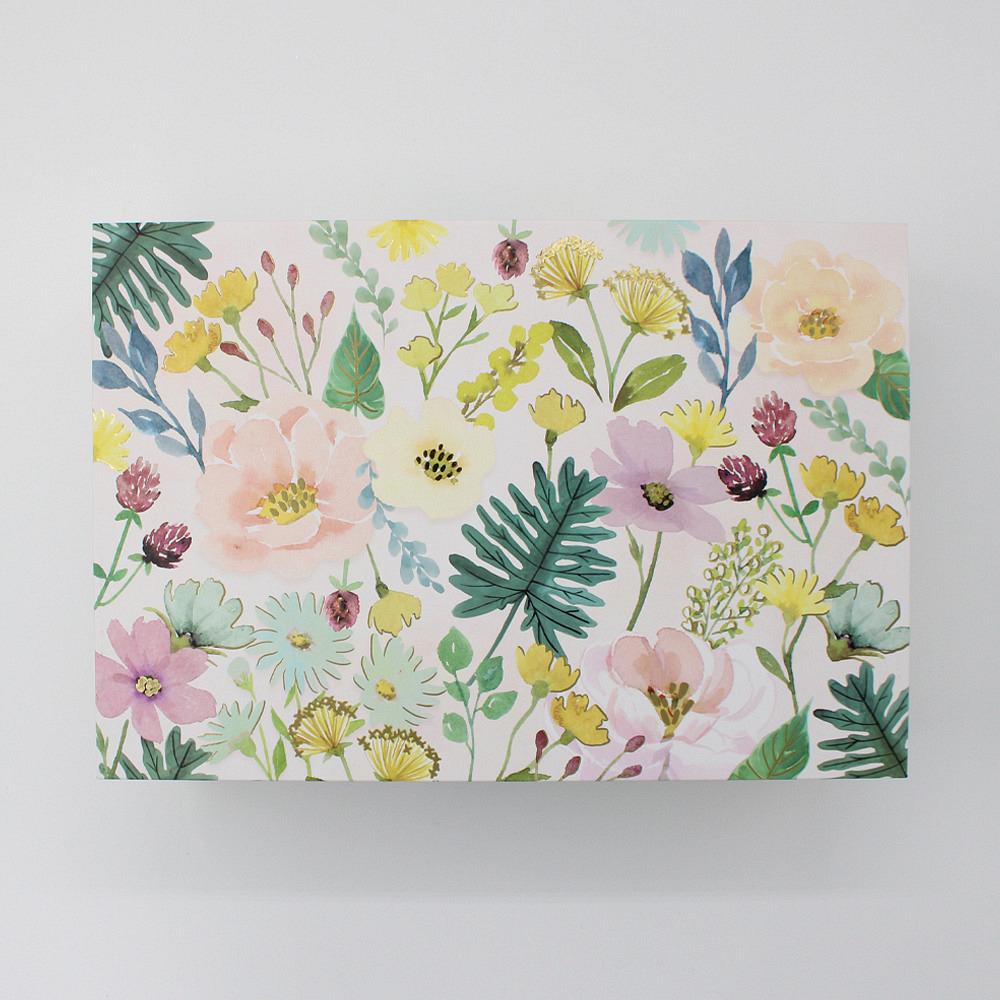 Box Floral Garden