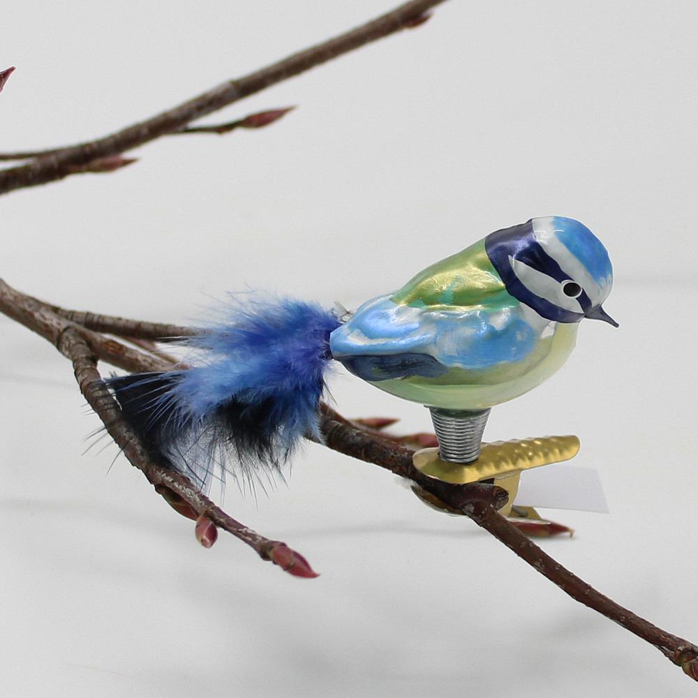 Baumschmuck Kleine Blaumeise